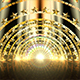 Golden Star Gate Stage - VideoHive Item for Sale