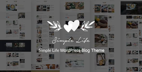 Simple Life – Responsive WordPress Blog Theme