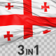 Georgia Flag Pack - VideoHive Item for Sale