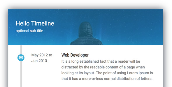 Timeline Card - Addon for WPBakery Page Builder (formerly Visual Composer) - CodeCanyon Item for Sale