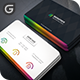 Multicolor Corporate Business Card - GraphicRiver Item for Sale