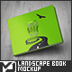 Landscape Book Mock-Up - GraphicRiver Item for Sale