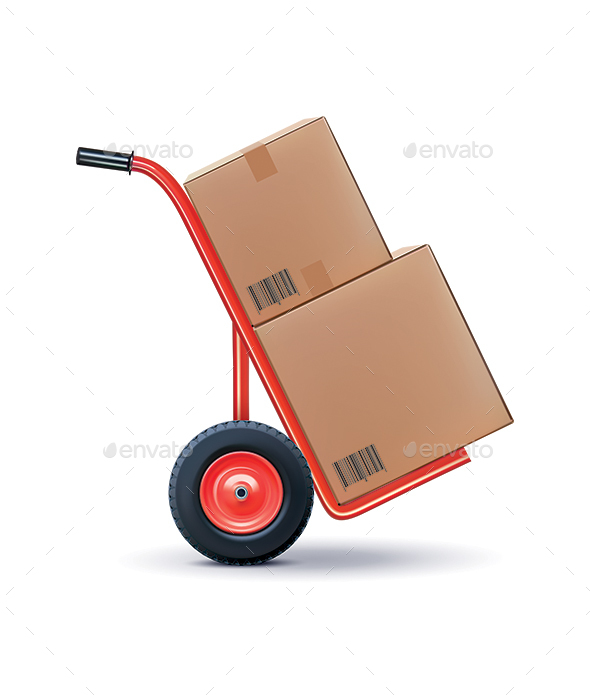 Shipping Cart - Services Commercial / Shopping