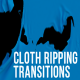 Ripping Cloth Transitions - VideoHive Item for Sale