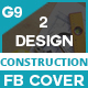 Facebook Cover For Construction Business - GraphicRiver Item for Sale