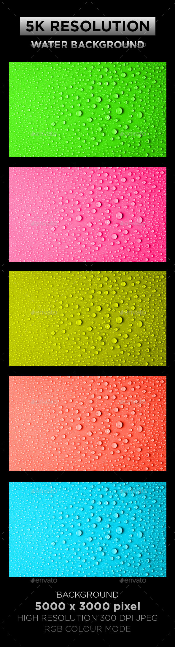 Water Texture Background 001 - Backgrounds Graphics