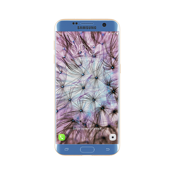 Galaxy S7 Edge Blue/Gold - 3DOcean Item for Sale