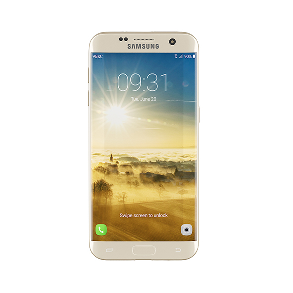 Galaxy S7 Gold - 3DOcean Item for Sale