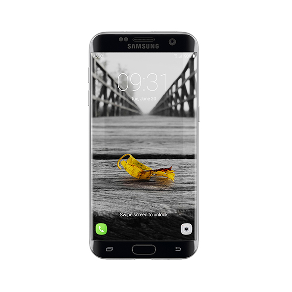 Galaxy S7 Black - 3DOcean Item for Sale