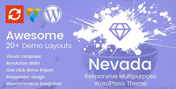 Nevada - Responsive Multipurpose WordPress Theme