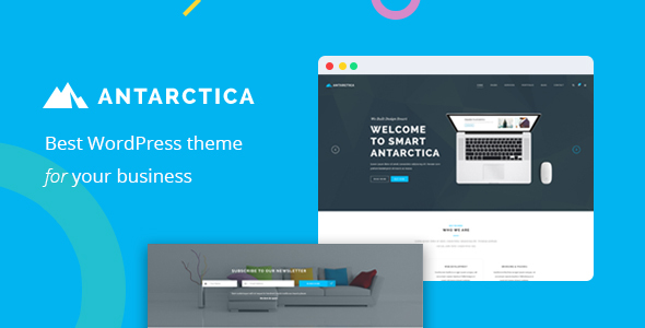 Antarctica - Business Portfolio WordPress Theme - Portfolio Creative