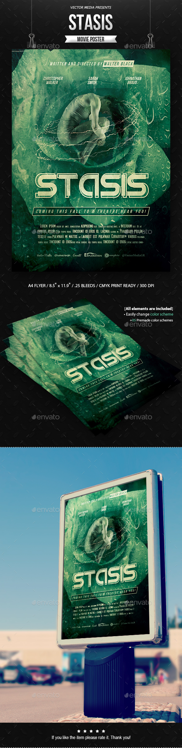 Stasis - Movie Poster - Miscellaneous Events