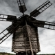 Old Windmill on the Background of Dramatic Clouds - VideoHive Item for Sale