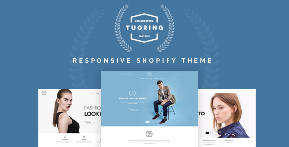 Tuoring - Multipurpose Responsive Shopify Theme (Sections Ready)