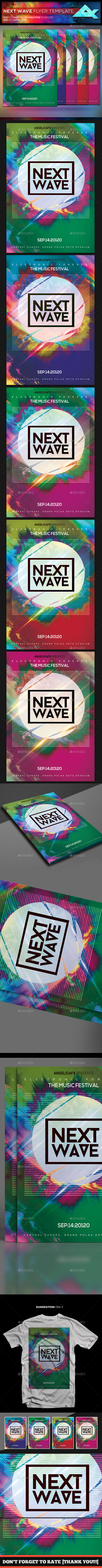 Next Wave Flyer Template - Events Flyers
