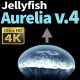 Jellyfish Aurelia 4 - VideoHive Item for Sale