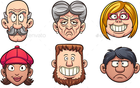 Cartoon People - People Characters