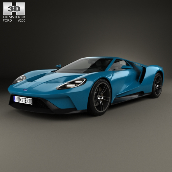 Ford GT 2017 - 3DOcean Item for Sale