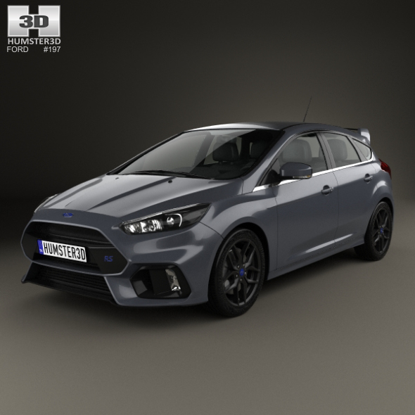 Ford Focus hatchback RS 2014 - 3DOcean Item for Sale