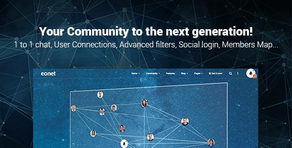 Eonet - Responsive Communities & Networks WordPress Theme by Alkaweb [19557463]