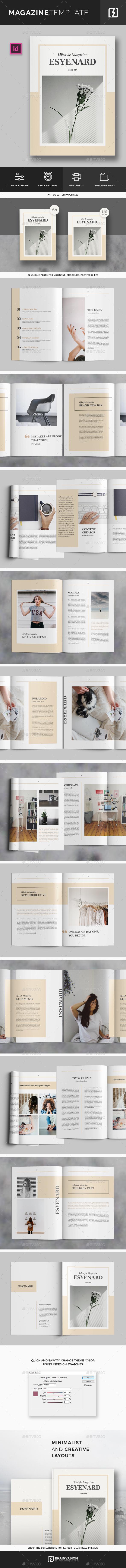 Magazine Template Vol.04 - Magazines Print Templates
