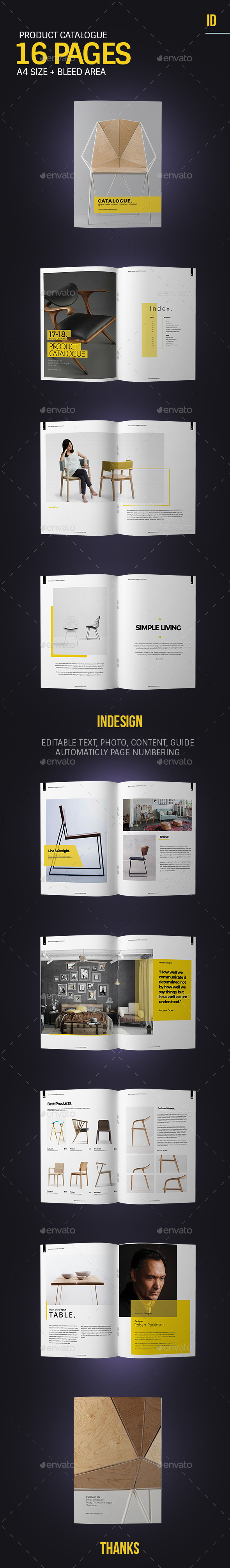 Product Catalogue/Brochure Template - Catalogs Brochures