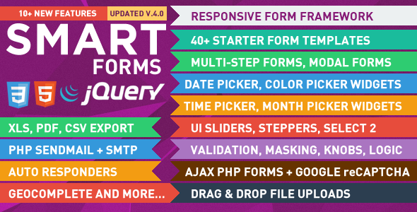 Smart Forms - CodeCanyon Item for Sale