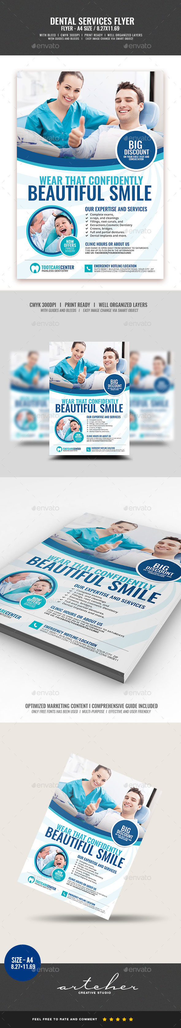 Dental Services Flyer v2 - Corporate Flyers