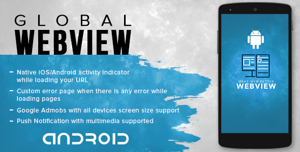 Global Webview app for Android