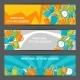 Advertising Banners with Promotional Gifts and - GraphicRiver Item for Sale