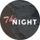 The Night - Blog PSD Template - ThemeForest Item for Sale