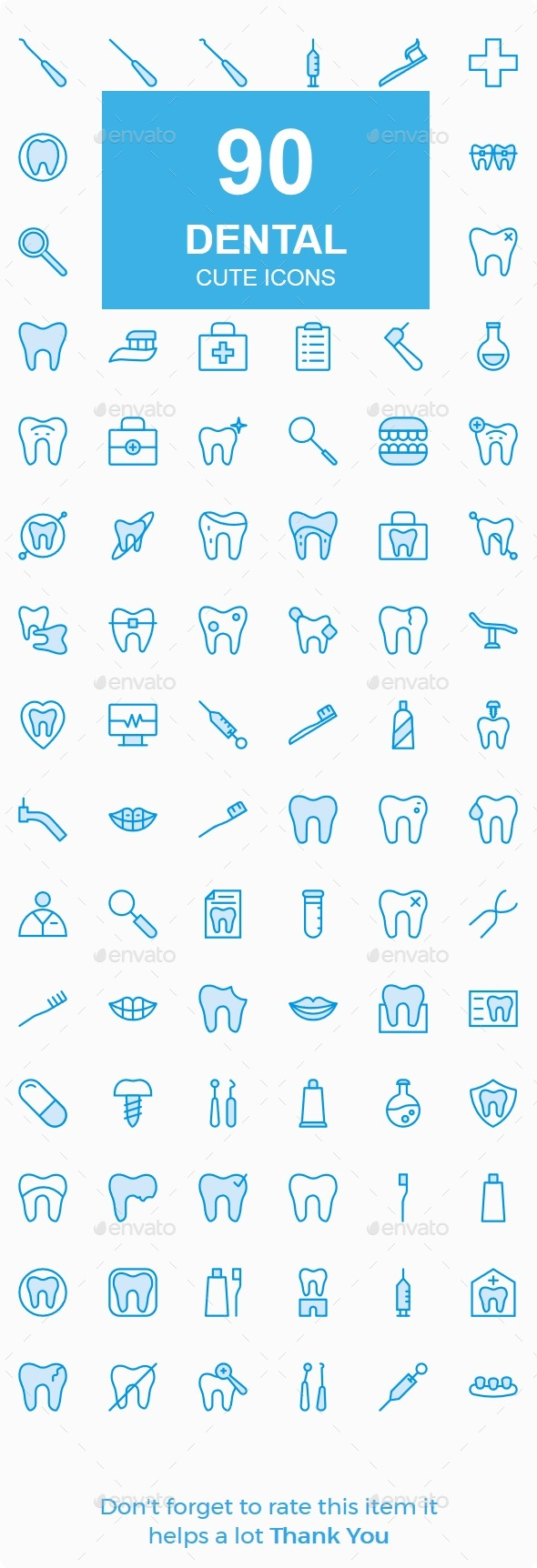 Dental Cute Style icons - Icons
