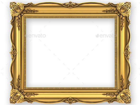 Painting Frame - Objects 3D Renders