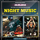 Night Music Flyer / Poster - GraphicRiver Item for Sale