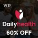DailyHealth - A Professional Health and Medical Blog and Magazine WordPress Theme Nulled