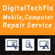 Digital Tech Fix -  Multipurpose Mobile, Computer, Electronic Servicing and Repairing HTML Template - ThemeForest Item for Sale