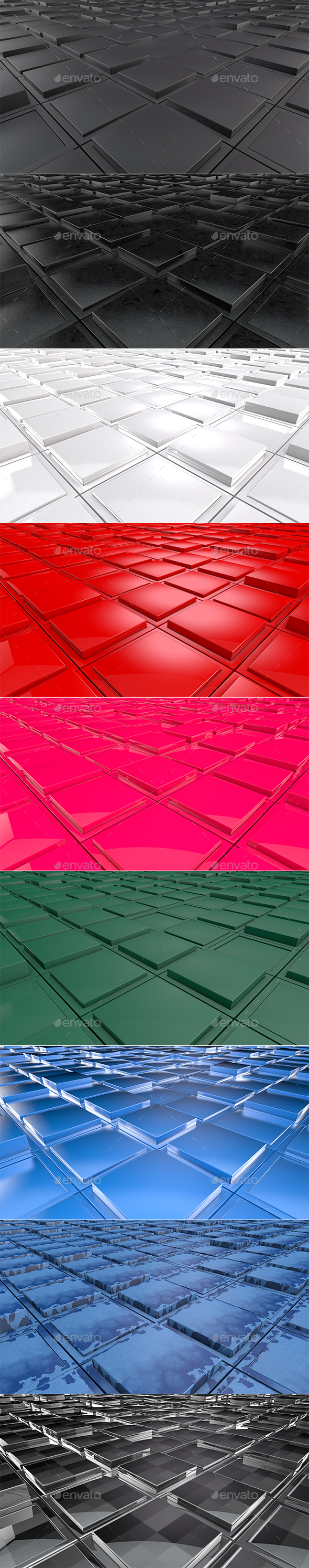 3D Cube Background - 3D Backgrounds