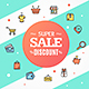 Modern Trendy Sale Concept Flyer Card. Vector - GraphicRiver Item for Sale