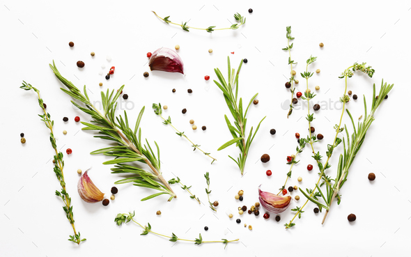 Herbs and Spices  - Stock Photo - Images