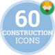 Building Industry Engineering Production - Flat Animated Icons and Elements