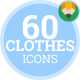 Fashion Clothes Shirt Shoes Dress - Flat Animated Icons and Elements - VideoHive Item for Sale