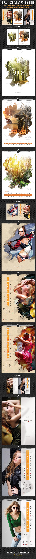 3 Creative Wall Calendar 2018 Bundle 3 - Calendars Stationery
