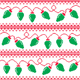 Christmas Tree Lights Seamless Pattern, Ugly Christmas Sweater Style - GraphicRiver Item for Sale