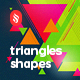 Triangles Shapes Backgrounds - GraphicRiver Item for Sale