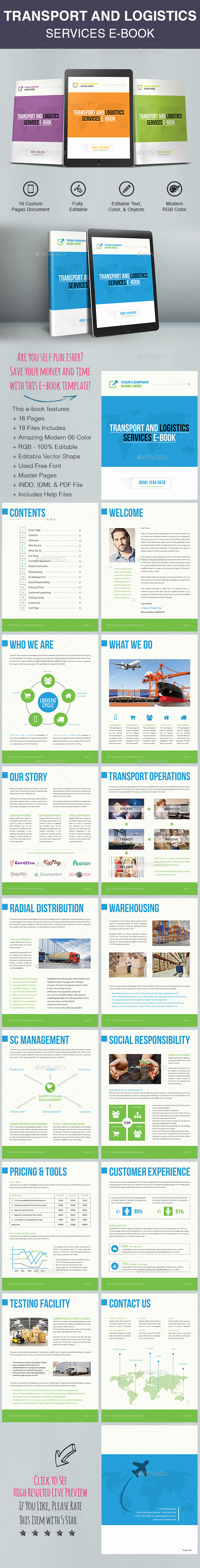 Transport And Logistics Services E-Book - ePublishing