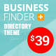 Business Finder: Directory Listing WordPress Theme Nulled