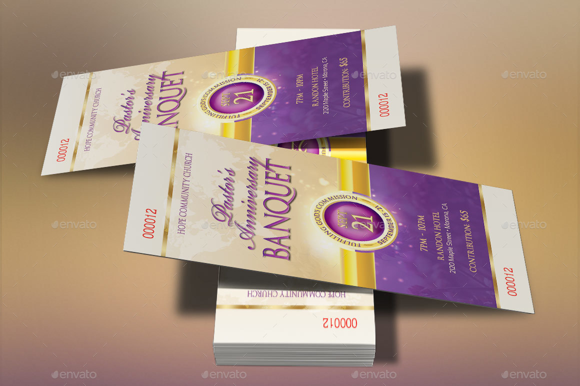 Clergy Anniversary Template Kit by Godserv | GraphicRiver