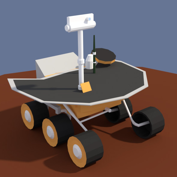 Low Poly Cartoony Planet Rover 2 - 3DOcean Item for Sale