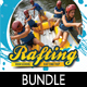 Rafting Flyer Poster Banner Bundle 1