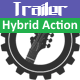 Hybrid Action